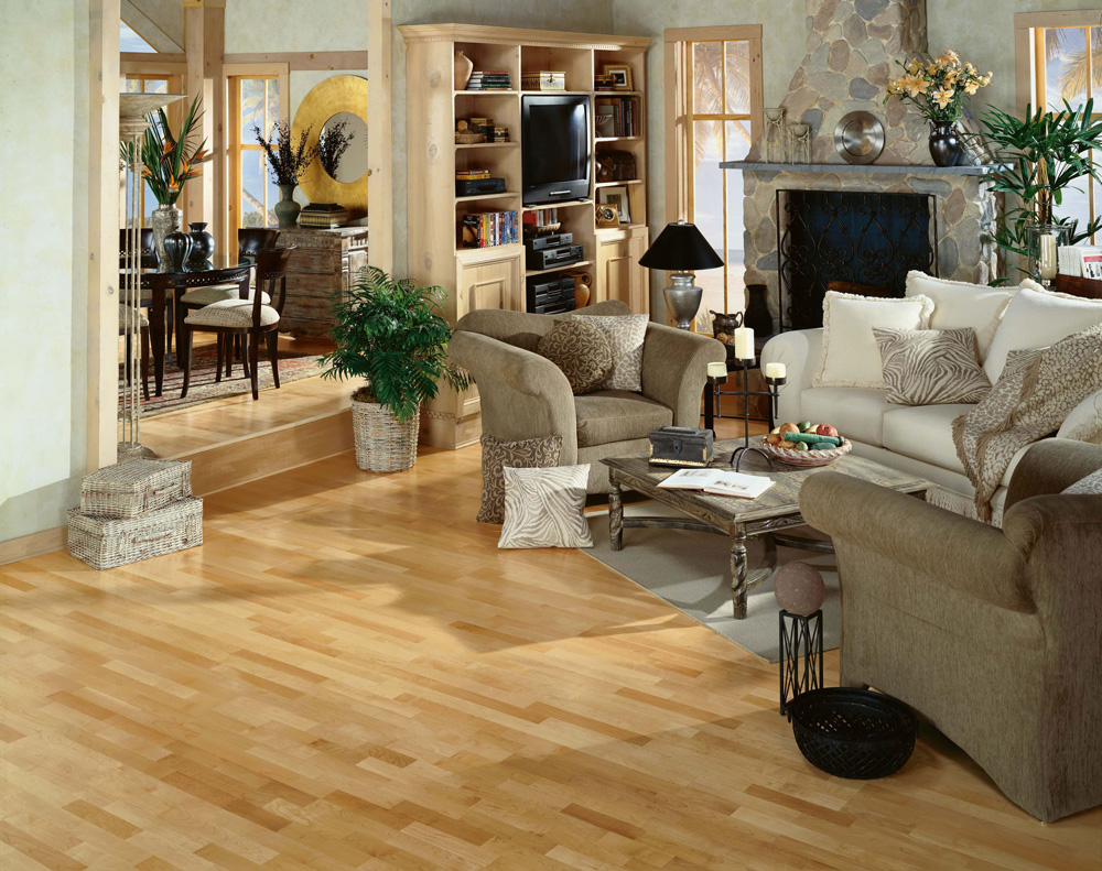 Maple Country Natural Lock Flooring